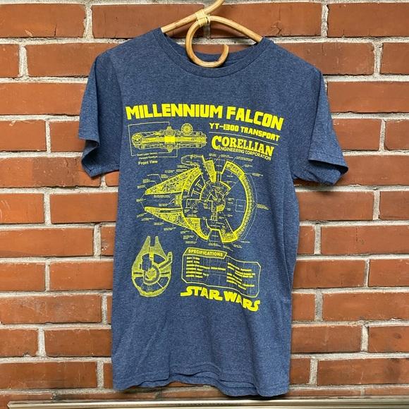 🎟🧿 millennium falcon T-shirt